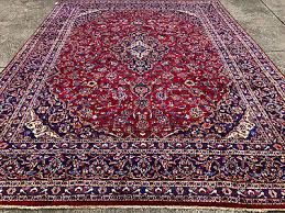 2 of 12 10x13 red hand knotted persian rug rugs iran handmade wool antique blue 10x14 ft
