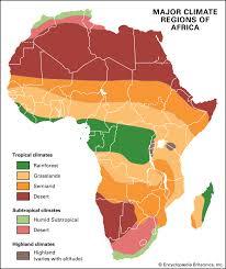 Africa Climate Britannica