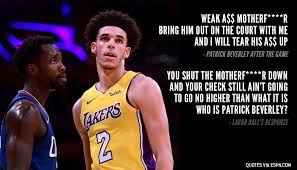 Lavar Ball Quotes Classy LaVar Ball Responds To Patrick Beverley TrashTalking Shutting