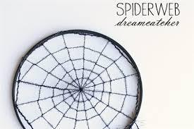Spider Web Dream Catcher Cool DIY Spiderweb Dreamcatcher CraftSmile