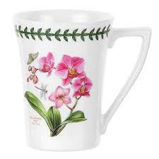 portmeirion exotic botanic garden 10oz mug set of 6 co uk kitchen home