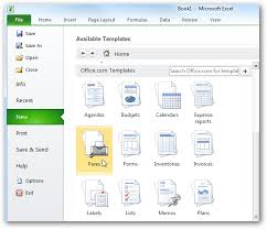 office microsoft templates beginner using templates in ms office 2010 2007