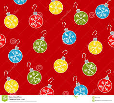 Christmas Ornament Patterns Magnificent Christmas Ornaments Pattern 48 Stock Illustration Illustration Of