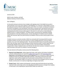 Musc Doctors Note Department Of Health Administration And Policy