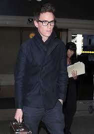 ed redmayne wearing black pea coat black chinos navy scarf men s fashion