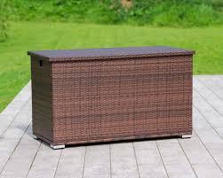 large outdoor storage box rattan direct
