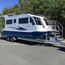 Small Picture Home Boatahome Trailerable Houseboats Boat A Home