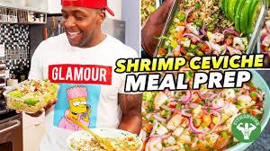Healthy Shrimp Ceviche Recipe Meal Prep ...