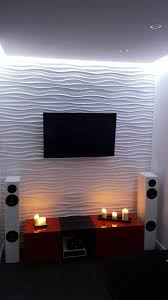zefiro m 3d medium wavy wall panel system suits home projects