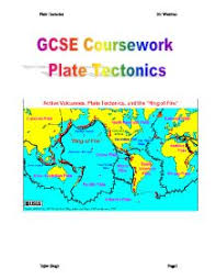 plate tectonics gcse geography marked by teachers com gcse coursework plate tectonics