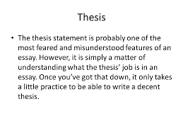 intro paragraphs the intro paragraph is an extremely important  4 thesis