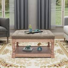 cocktail ottomans living room