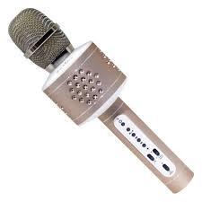 <b>Караоке</b> микрофон <b>Tesler KM</b>-<b>50G</b> золотой — купить в интернет ...