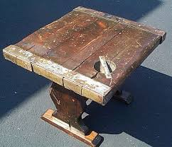 ship wood furniture. Wwii Liberty Ship Hatch Cover Wooden End Table Wood Furniture E