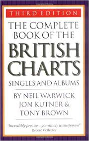 Book Chart Uk The Complete Book Of The British Charts 3rd Edition Neil