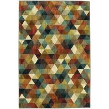 red and brown area rugs studio rug