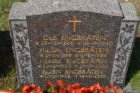 Hilda Thomally Engbråten (Kristensen Berge) (1898 - 1984) - Genealogy