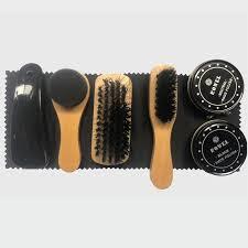 7x shoes shine care kit polishing tool transpa polish brush set for leather jackets shoes sneakers boots cleaner ml039 denim sheepskin jacket denim wool