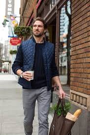 28 best Quilted Vest images on Pinterest | Boys style, Casual mens ... & The Essentials: Gray Denim – 6 Complete Outfits That Prove It Will Change  Your Wardrobe + 50 Image Inspiration Album Adamdwight.com