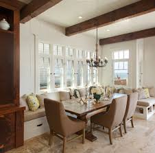 Chic Banquette Seating Dining Room  Banquette Bench Dining Room - Dining room corner bench