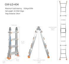 Step Ladder Size Chart A Frame Ladder Sizes Travelsa Co