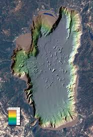 Smith Lake Depth Chart Lake Tahoe Depth Map In 2019 Lake Tahoe Map Lake Tahoe
