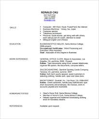 Fashion Design Resume Template