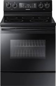 electric stove. Contemporary Electric Freestanding Electric Range  Black Front_Zoom Inside Stove T