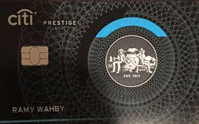Citi Prestige New Card Design Citi Changes Odd Credit Card Design