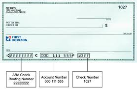 Maybe you would like to learn more about one of these? How Do I Find My Routing Account Numbers First Horizon Bank