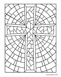 The cross, iconic to the crucifixion of jesus christ has been depicted in multiple forms that awaken the spirituality in you. Free Printable Cross Coloring Pages For Kids