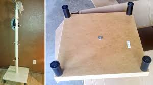 Coat Rack Legs Inspiration Make A Coat Rack And Hat Stand With A Table And Some Extra Legs