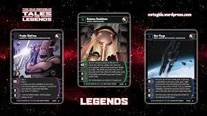 Trading Card Design Star Wars Trading Card Game Tal Wallpaper 6 Legends Star Wars