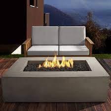 Real Flame Baltic Concrete Propane Fire Pit Table Reviews Wayfair