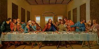 christ painting the last supper a rendition by alan carlson