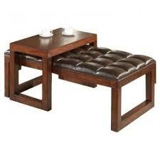 Tiburon Coffee Table U0026 Ottoman Set