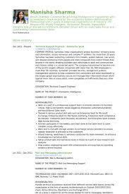 Desktop Administrator Resume Samples