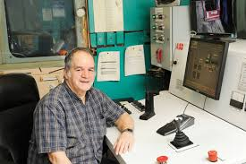 Operations Employee Manitoba Operations First T 1 Hoistman Fred Houston Marks 50 Years