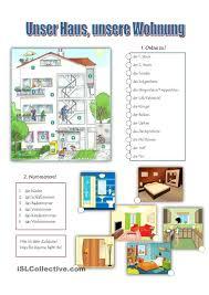 Unser Haus Unsere Wohnung Diller Deutsch Lernen Deutsch