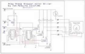 6 wire stepper motor wiring diagram images stepper motors code easy to build cnc mill stepper motor and driver circuits