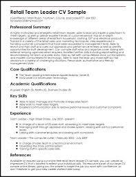 Resume Of Team Leader Team Leader Resume Team Leader Resume Team Leader Resume It Team