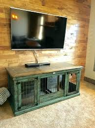 wooden crate entertainment center homemade indoor dog kennel build wood crate