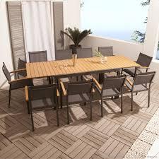 Stunning Table De Salon De Jardin Bois Pictures Amazing House