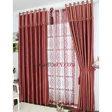 Curtain Patterns Enchanting Energy Saving Curtains Full Of Burgundy Floral Patterns Buy