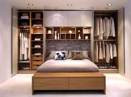 image of perfect small bedroom storage ideas