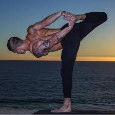 dudes doing yoga via jacob manning