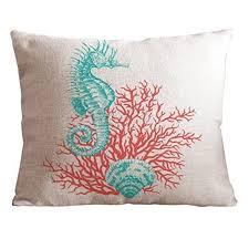 Coastal Throw Pillow Covers