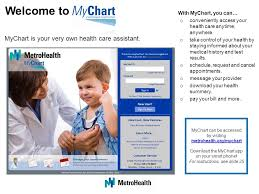 Metrohealth Mychart Chilangomadrid Com