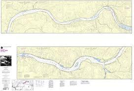 Amazon Com Noaa Chart 18547 Snake River Lake Bryon