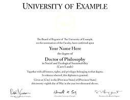 Free Fake Degree Template Honorary Doctorate University Degrees